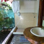 Badezimmer im Freiem