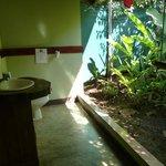 Badezimmer im Freien