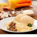 Da Dino - Omelette Champiñón (Sábados y Domingos)
