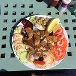 Royal crab salad