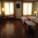 Meu quarto no Royal Crown Hotel - Siem Reap- Camboja