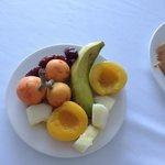 Fresh fruit for breakfast...;-)