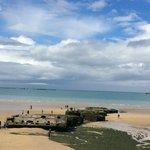 plage debarquement arromanche