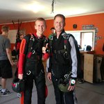 """My """"solo"""" checkout jump with Sander"""