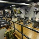 Gyma threadmill area