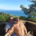 Vista de Big Sur do Restaurante Nepenthe