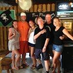The amazing crew and us!!