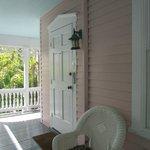Honeymoon suite door