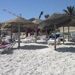 Kanta Private beach, 10 mins walk or a tuk tuk ride away