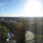Vista dalla camera del Mondrian Hotel