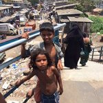 before entering Dharavi slums