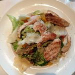 Salat mit Huhn