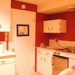 Kitchen area - Wisteria Suite