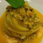 Spaghettoro Verrigni peperoni e Telline