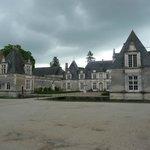 Château de Villesavin entrée principal vue depuis le parking