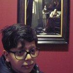 Vermeer. Donna che scrive una lettera 1670