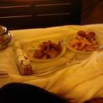 Room Service was hot and yummy!