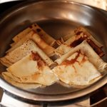 Fresh crepes very day