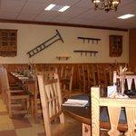 Décor typique de la salle à manger