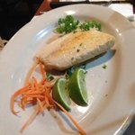 light fare of grilled fish!