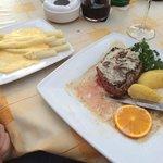 Äußerst lecker,Steak und Spargel wirklich ein Gedicht! Espresso ist leider nicht sehr italienisc