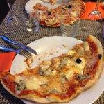 Pizza immense mais digne d'un camion ambulant!!! :-(