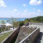 La laguna desde el fuerte.