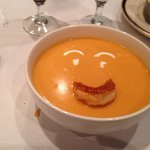 Happy lobster bisque