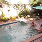 The pool- from La Casita patio