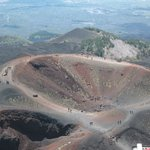 Cratere a quota 1900 mt