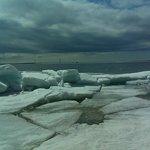 Mackinac Ice Cubes, April, 2014