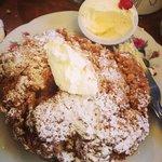 rustic apple tart -- wow