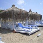 Die neuen Strand Hütten
