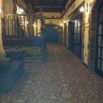 Corridor to breakfast room