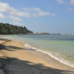 La spiaggia di Anse Forbans