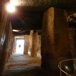 Inneres des Dolmen