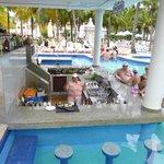 Barra piscina