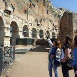 Coliseum with Tiziana