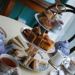 Our afternoon tea