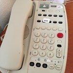 Overlay missing from desk phone