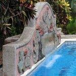 Fontaine à la piscine