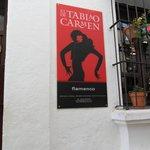 Flamenco dancing in Pablo Espanyol
