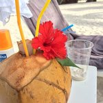 You should try the chilled coconut water!