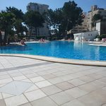 Pool side!