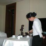 Room service coffee