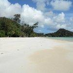 La Goulue - la spiaggia di fronte al ristorante .cote D'Oor