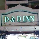 D&D INN sign