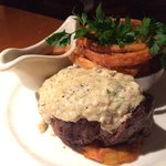 King Cut Filet with Blue cheese