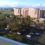 Top floor view towards Embassy Suites (casoino and Outback Restaurant)