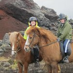 Riding in Reykjavik!